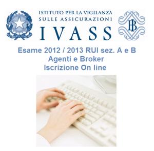 Iscrizione Online Esame IVASS